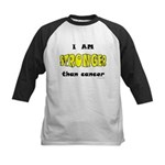 Stronger Than Cancer (yellow) Kids Baseball Jersey