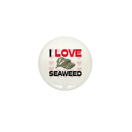 I Love Seaweed Mini Button (10 pack)