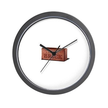 The Brick Wall Clock
