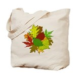 Fall Foliage Autumn Leaves Reusable Tote Bag