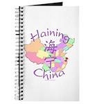 Haining China Map Journal
