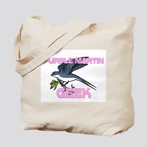 Purple Martin Geek Tote Bag