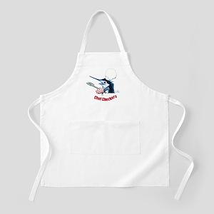 Blue Marlin Chef BBQ Apron