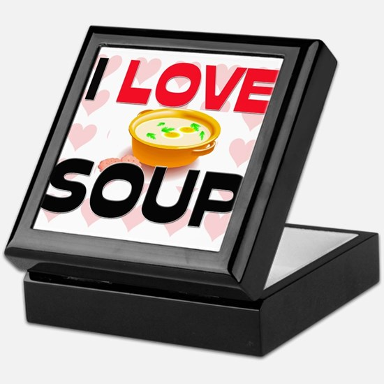 I Love Soup Keepsake Box