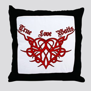 True Love Waits Throw Pillow