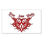 True Love Waits Rectangle Sticker 50 pk)