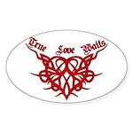 True Love Waits Oval Sticker (50 pk)