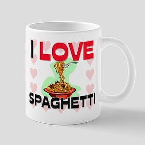 I Love Spaghetti Mug