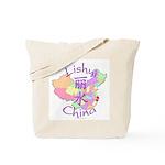 Lishui China Map Tote Bag