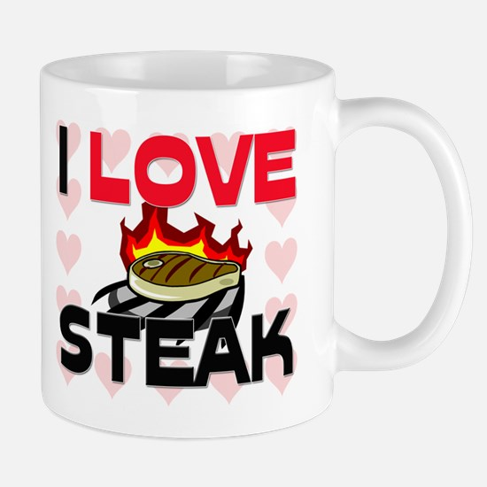 I Love Steak Mug