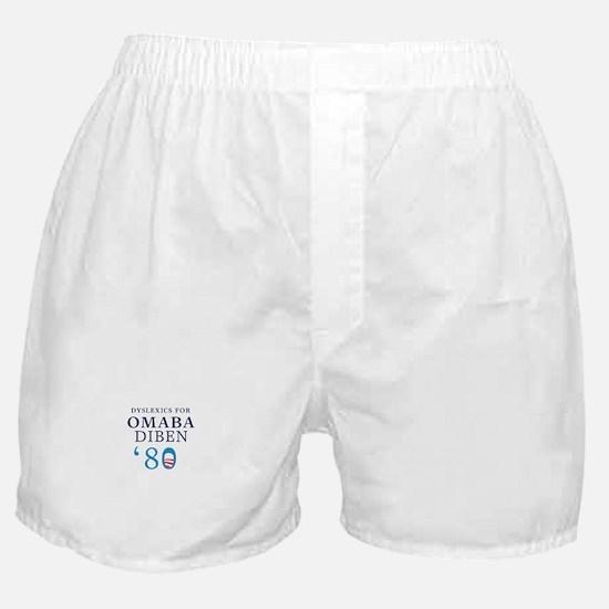 Dyslexics for Obama Biden 08 Boxer Shorts