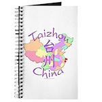 Taizhou China Map Journal