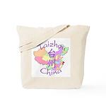 Taizhou China Map Tote Bag