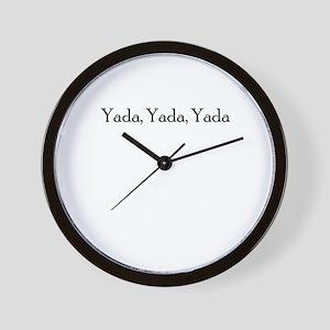 YADA YADA YADA Wall Clock