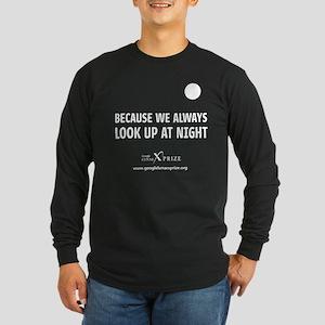 Always Look Up Long Sleeve T-Shirt BLACK or NAVY