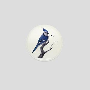 blue jay bird Mini Button