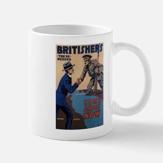 Unique World war i Mug