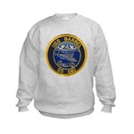 USS BARBEL Kids Sweatshirt