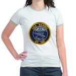 USS BARBEL Jr. Ringer T-Shirt