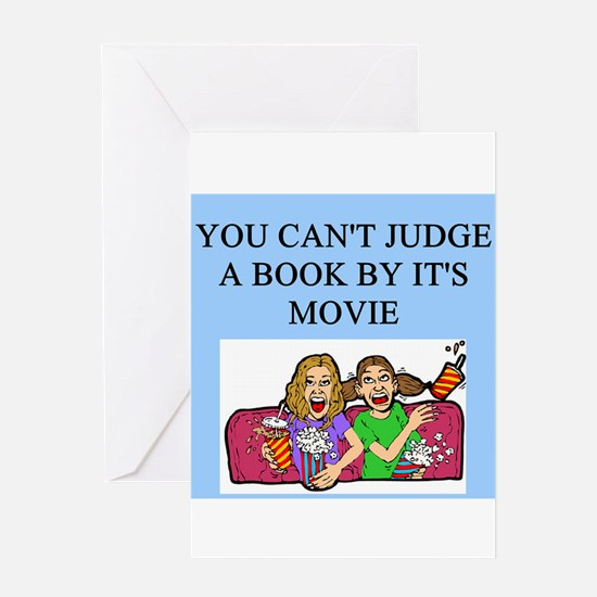 books movies Greeting Card