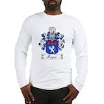Manzini Family Crest Long Sleeve T-Shirt