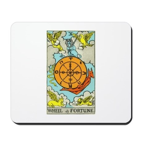 Wheel of Fortune Mousepad