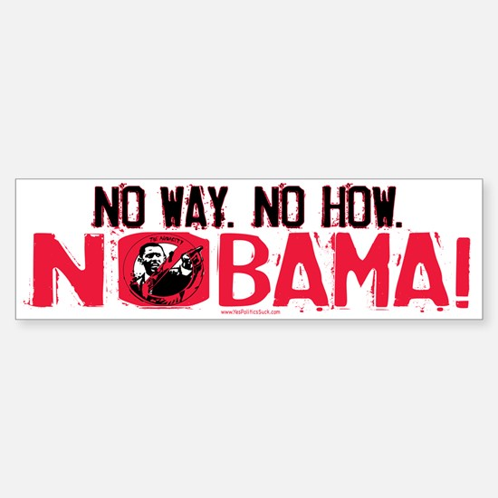 No Way Nobama Bumper Bumper Bumper Sticker