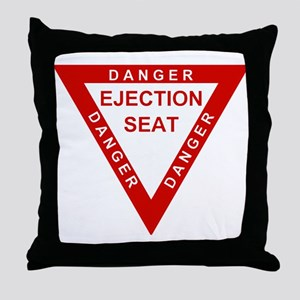 EJECTION SEAT Throw Pillow