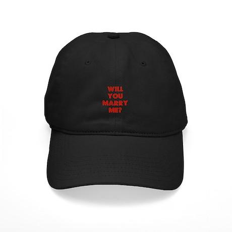 Retro - Will you marry me? Black Cap