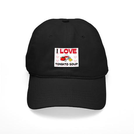 I Love Tomato Soup Black Cap