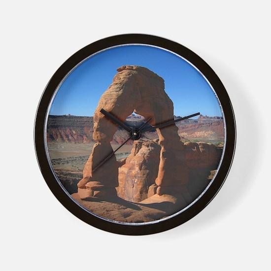 Delicate Arch - Wall Clock