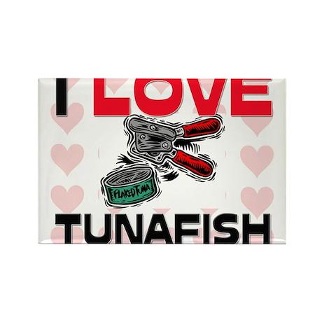 I Love Tunafish Rectangle Magnet