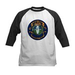 USS BARBOUR COUNTY Kids Baseball Jersey