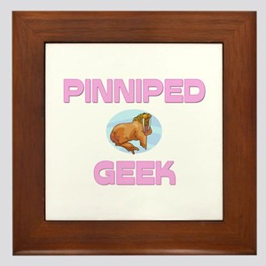 Pinniped Geek Framed Tile