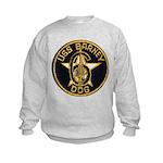 USS BARNEY Kids Sweatshirt
