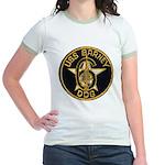 USS BARNEY Jr. Ringer T-Shirt
