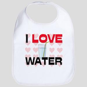 I Love Water Bib