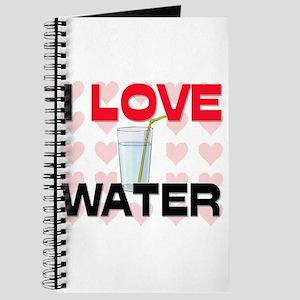 I Love Water Journal