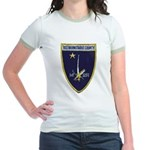 USS BARNSTABLE COUNTY Jr. Ringer T-Shirt