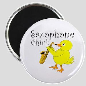 Saxophone Chick Magnet