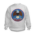 USS BARRY Kids Sweatshirt