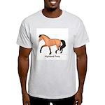 Dun Highland Pony Light T-Shirt