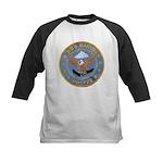 USS BARTON Kids Baseball Jersey