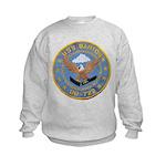USS BARTON Kids Sweatshirt