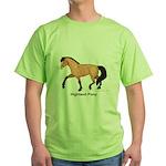 Dun Highland Pony Green T-Shirt