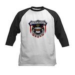 USS BASILONE Kids Baseball Jersey