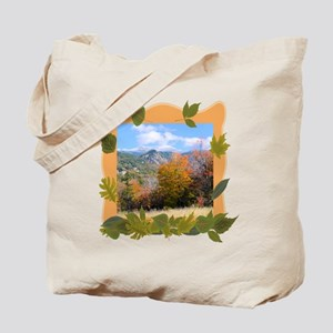 Killington Vermont Fall Foliage Canvas Tote Bag