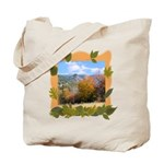 Killington Vermont Fall Foliage Canvas Tote Bag