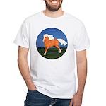 Galloping Haflinger White T-Shirt