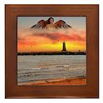Angel #181 : Framed Tile